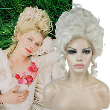Adult Marie Antoinette Wig Costume Accessory Victorian Style Women's Baroque Wig