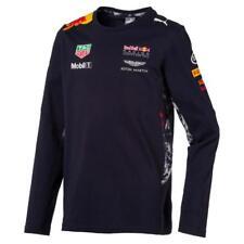 A - Haut T-shirt Marine Divers Sponsors Puma Taille 5 / 6 Ans Neuf