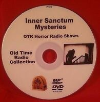 Inner Sanctum Mysteries OTR MP3 DVD 149 Old Time Radio Shows Audio Book