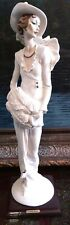"""Giuseppe Armani Huge 19"""" Figurine Sculpture Statue""""Lady With Muff"""" Mint With Box"""
