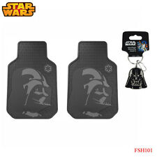 New 3pc Set Star Wars Darth Vader Car Truck Front Rubber All Weather Floor Mats