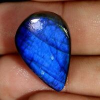 Blue Fire Spectrolite Labradorite Cabochon 100% Natural Multi Flash Gemstone J55