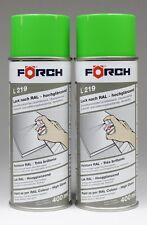 2x Gelbgrün grün RAL 6018 Lack Lackspray glänzend Spray Farbe Spraydose 400ml
