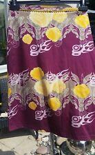 "GSUS SINDUSTRIES Skirt Slim Fit Floral Size X Small  - 28"" waist"