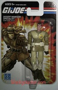 GI Joe Desert Warfare Specialist Dusty 3.75 Figure 2008 Hasbro Coll Club MOC (1)