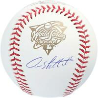 Andy Pettitte New York Yankees Autographed 2000 World Series Logo Baseball