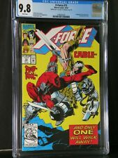 X-Force #15 CGC 9.8 / 9.6  Rear Double Cover Error Sunspot Joins X-force