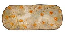 Antique French Renaissance Full Floral Aubusson Sofa Cover Hand Woven | 53X23inc