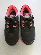 "Nike ""Dual Fusion ST2"" Black/Pink Lightweight Running Shoes Women's 8.5"