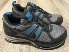 New Women's NIKE PEGASUS 29 GTX *GORETEX* Grey Blue Sneakers US 6.5 #12205