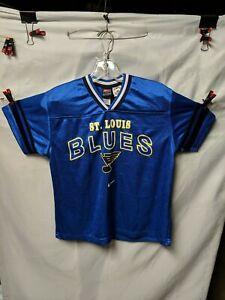 NHL St. Louis Blues Jersey Shirt YOUTH M (12-14)