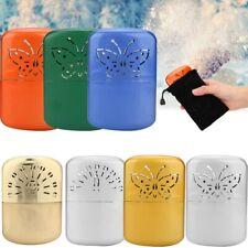 Refillable Safe Hand Warmer Reusable Pocket Portable Ski Winter Outdoor Camping