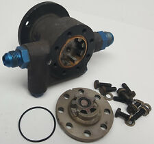 Mechanical race car fuel injection pump Hilborn Enderle Rons Crower w tang drive