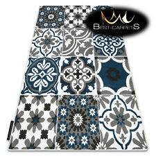 MODERN Amazing New design RUG ALTER Flowers blue Thick CHEAP Best-Carpets