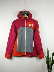 Ortovox Women's Jacket Merino Inside Softshell Pink Orange