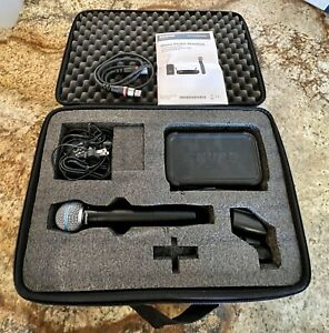 Shure PGXD4 Wireless System with Handheld SM 58 Beta Microphone