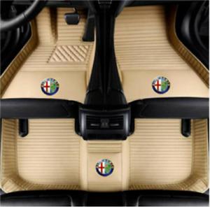 Fit For Alfa Romeo Stelvio Giulia all weather waterproof Car floor mat 2017-2021