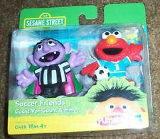 Count Von Count and Elmo Sesame Street Playskool 2 pack MIP hasbro RARE