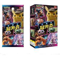 1box(100 cards)Pokemon Sun & Moon Detective Pikachu Movie Edition Card moos