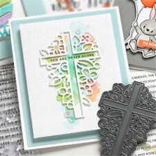 Cross Shape Metal Cutting Dies Scrapbooking Embossing Cards Making Craft Stencil