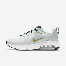NIKE AIRE MAX200 WOMEN'S LIFESTYLE RUNNING SHOES AT6175-102 White Gold Black