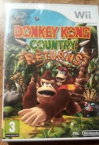DONKEY KONG COUNTRY RETURNS Nintendo Wii PAL new and sealed