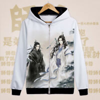 Grandmaster of Demonic Cultivation Hoodie Long Sleeve Unisex Coat Jacket #Bo35