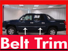 Chevy AVALANCHE CHROME SIDE BELT TRIM DOOR MOLDING 01 02 03 04 05 06**