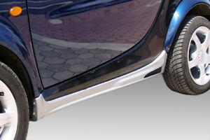 For SMART FORTWO 450 2002-2007 SIDESKIRTS ABS PLASTIC