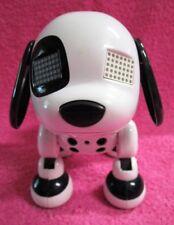 Spin Master Zoomer Zuppies Spot Black & White Interactive Robot Puppy Dog 2014