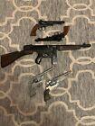 Rare antique cap gun mattel tommy burst rustler texan and gonher collection