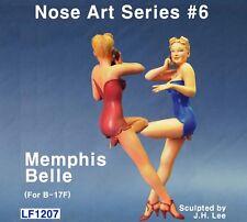 Legend 120mm Nose Art Series #6 (Memphis Belle) (For B-17F) Figure Kit #LF1207x