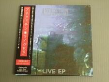 ANEKDOTEN Japan CD with OBI, LIVE EP