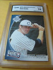 BRYCE HARPER NATIONALS 2010 CPC SOLUTIONS JUCO WORLD SERIES RC GRADED 10 L@@@K