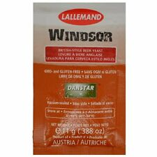 Lallemand Danstar Windsor yeast for home brew ale beer brewing 11g sachet