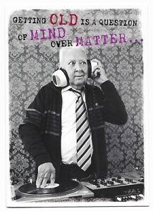 Happy Birthday Fun DJ Greetings Card Friend/Male/For Him/Her by Cards For You