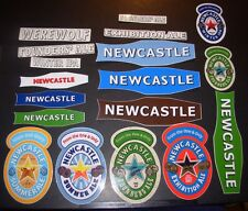 NEWCASTLE brown ale 18 STICKER PACK LOT decal craft beer brewery brewing