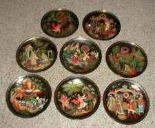 Lot-8 1991 Set of Tianex Russian Legends Collector Plates The Firebird Series