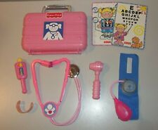 Fisher Price Pink Medical Doctor Kit Case with Tools