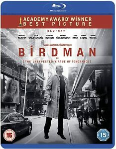 Birdman Blu-ray or DVD - Brand New - Fast and Free Delivery