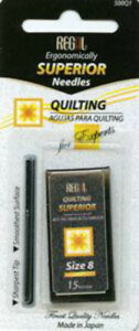 Regal Hand Quilting/Betweens Needles