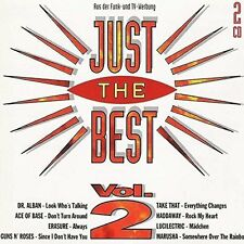 Just the Best 2 (1994) Dr. Alban, Ace of Base, Erasure, Take That, Hadd.. [2 CD]