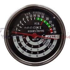 Replacement Tachometer Hour Meter Will Fit John Deere 420 430 440 5 Spd At13366