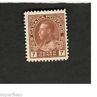 1924 Canada SCOTT #114  King George V   MH stamp F