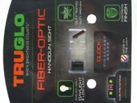 Truglo Brite-Site Fiber Optic Sight Set For Glock 17 / 19 / 22 / 23 / 26 / 33