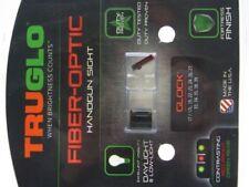 Truglo Brite-Site Fiber Optic Sight Set For Glock 17 / 19 / 22 / 23 / 26 / 33