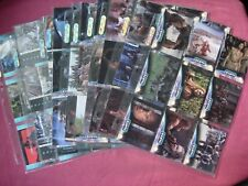 Battlefield Earth (The Movie) X90 Complete base set Upper Deck 2000 sleeved VFN