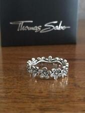 Band Excellent Cut Sterling Silver Fine Diamond Rings