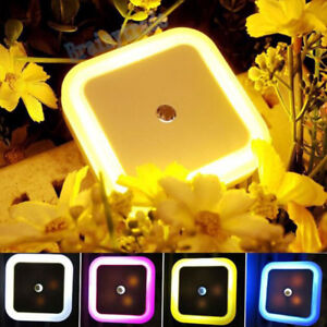 Home LED Induction Night Light Lighting-control Automatic Sensor Toilet Lamp NEW