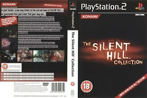 - Silent Hill Collection PS2 Replacement Spare Game Case Box Cover Art Work Only